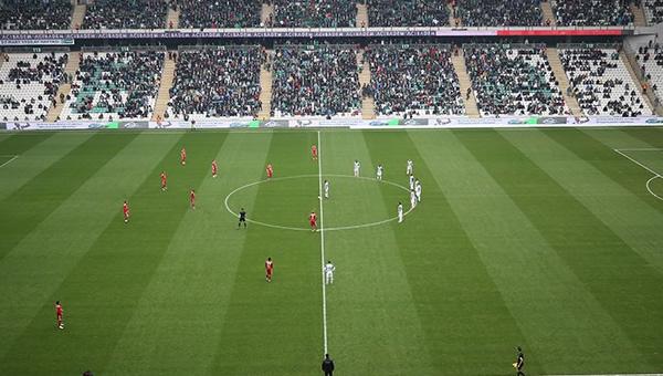 Bursa'da Ankaragücü taraftarları anıldı!