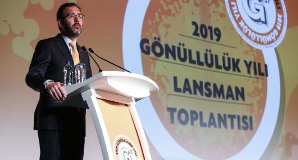 """Kasapoğlu: """"Dünyanın en cömert ülkesiyiz"""""""