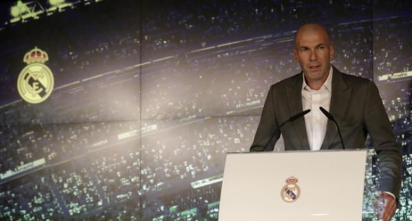 """Zidane: """"Eve dönmekten çok mutluyum"""""""