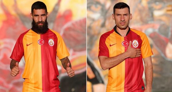 Şener Özbayraklı ve Jimmy Durmaz, Galatasaray'da