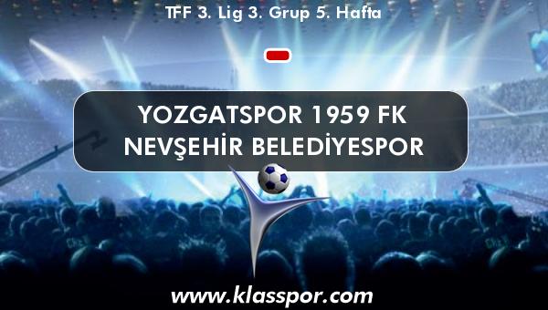 Yozgatspor 1959 FK  - Nevşehir Belediyespor