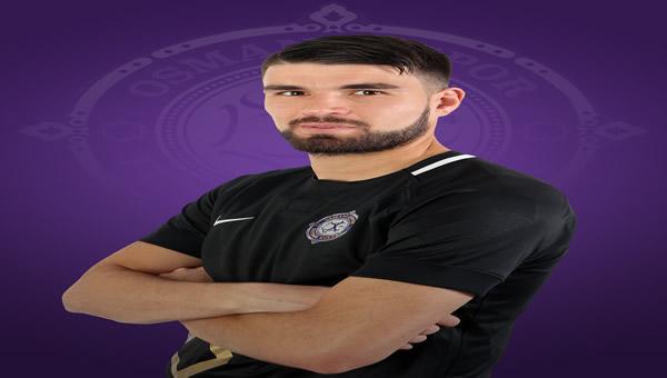 Osmanlıspor'da Hasan Kılıç kırmızı kart gördü