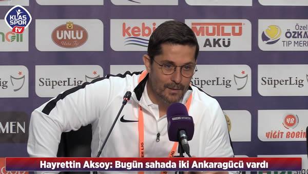 Teknik direktörlerden maç sonu açıklamalar