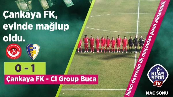 Çankaya FK 0 - 1 Buca