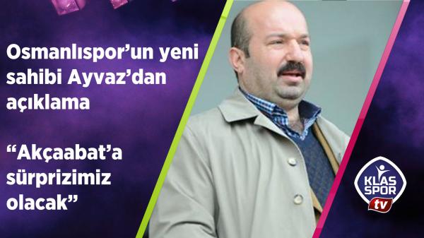 Osmanlıspor'un yeni sahibinden açıklama