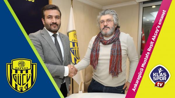 Yeni Teknik Direktör Mustafa Reşit Akçay