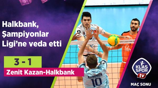 Halkbank, Şampiyonlar Ligi'ne veda etti
