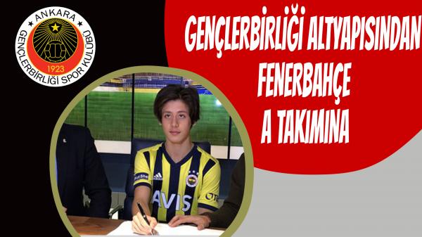 Gençlerbirliği altyapısından Fenerbahçe A takımına