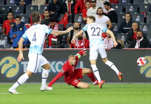 Türkiye: 1 Norveç: 1