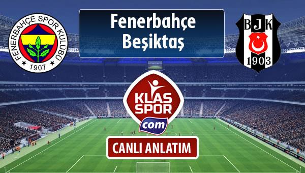 İşte Fenerbahçe - Beşiktaş maçında ilk 11'ler