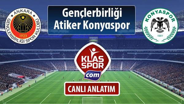 İşte Gençlerbirliği - Atiker Konyaspor maçında ilk 11'ler