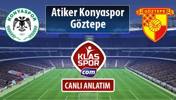 İşte Atiker Konyaspor - Göztepe maçında ilk 11'ler