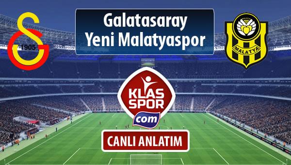 Galatasaray - Evkur Y.Malatyaspor maç kadroları belli oldu...
