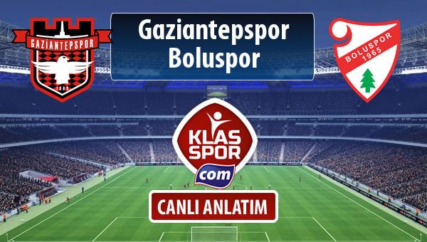 Gaziantepspor - Boluspor maç kadroları belli oldu...