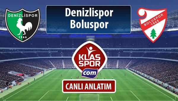 İşte Denizlispor - Boluspor maçında ilk 11'ler