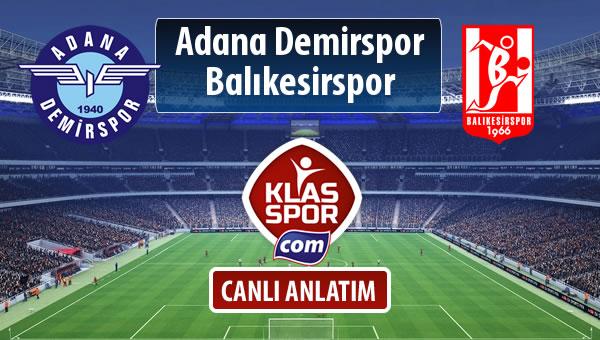 İşte Adana Demirspor - Balıkesirspor Baltok maçında ilk 11'ler