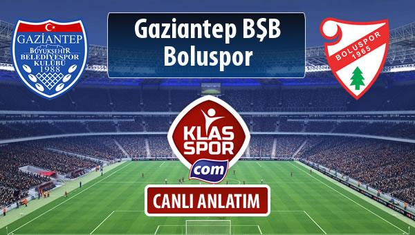 Gazişehir Gaziantep FK - Boluspor maç kadroları belli oldu...