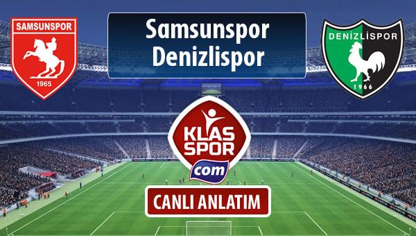 İşte Samsunspor - Denizlispor maçında ilk 11'ler