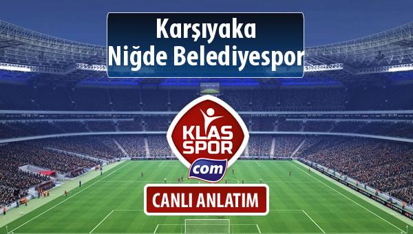 İşte Karşıyaka - Niğde Belediyespor maçında ilk 11'ler