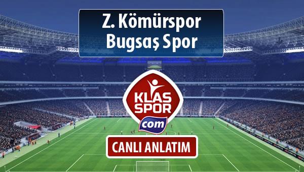 İşte Z. Kömürspor - Bugsaş Spor maçında ilk 11'ler