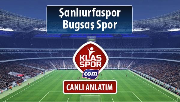Şanlıurfaspor - Bugsaş Spor maç kadroları belli oldu...