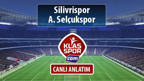 Silivrispor - A. Selçukspor sahaya hangi kadro ile çıkıyor?