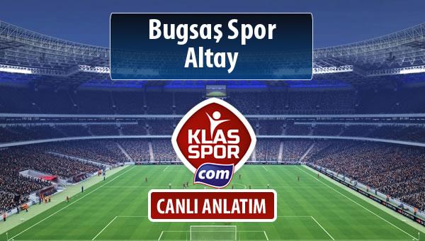 Bugsaş Spor - Altay maç kadroları belli oldu...