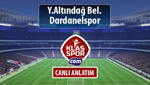 İşte Y.Altındağ Bel. - Dardanelspor maçında ilk 11'ler
