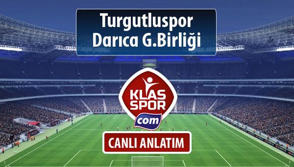 İşte Turgutluspor - Darıca G.Birliği maçında ilk 11'ler