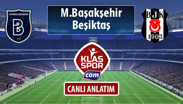 M.Başakşehir - Beşiktaş maç kadroları belli oldu...