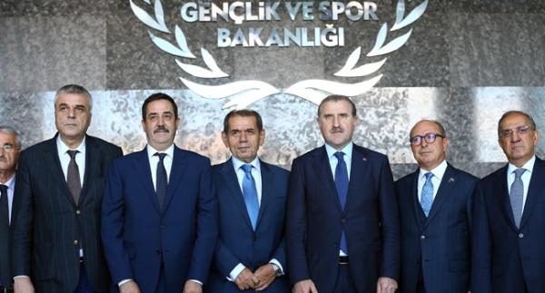 Kulüpler Birliği'nden Bakan Bak'a ziyaret