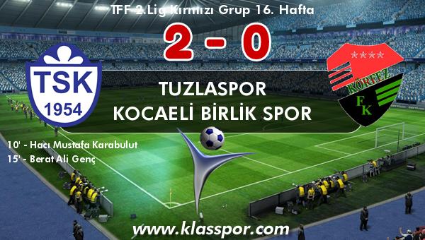 Tuzlaspor 2 - Kocaeli Birlik Spor 0