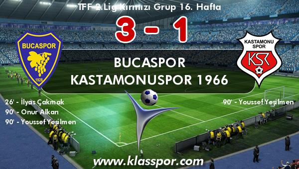Bucaspor 3 - Kastamonuspor 1966 1