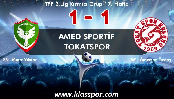 Amed Sportif 1 - Tokatspor 1