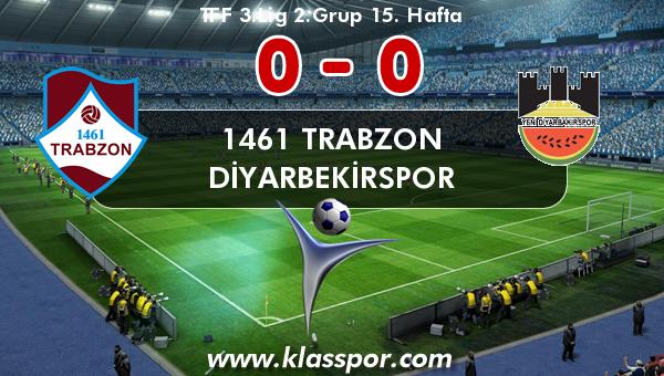 1461 Trabzon 0 - Diyarbekirspor 0