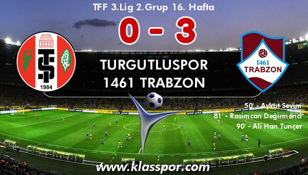 Turgutluspor 0 - 1461 Trabzon 3