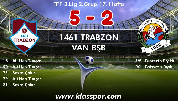 1461 Trabzon 5 - Van BŞB 2