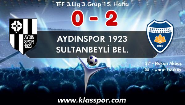Aydınspor 1923 0 - Sultanbeyli Bel. 2