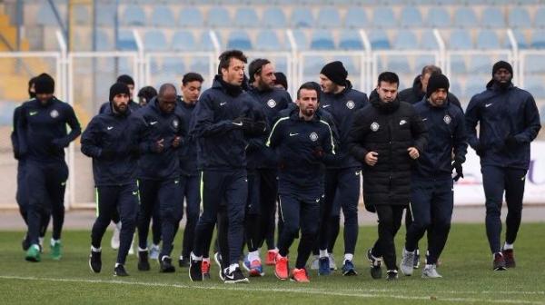 Osmanlıspor'da kupa maçı hazırlıkları başladı