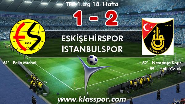 Eskişehirspor 1 - İstanbulspor 2