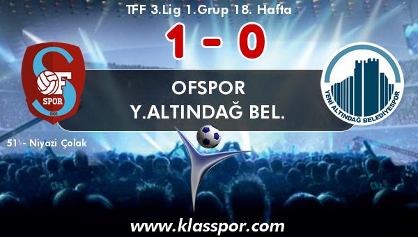 Ofspor 1 - Y.Altındağ Bel. 0