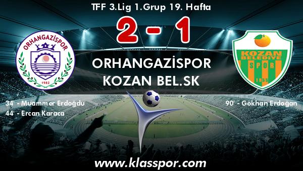 Orhangazispor 2 - Kozan Bel.SK 1