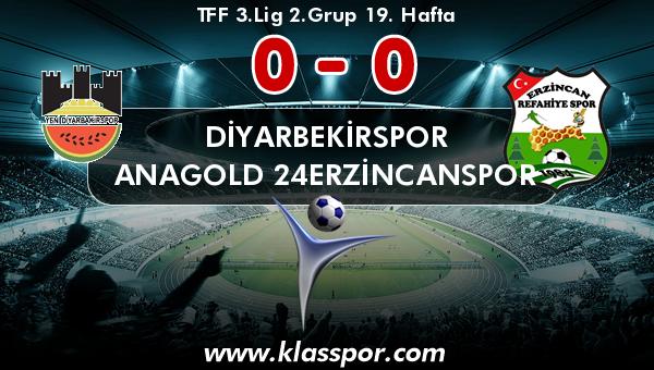 Diyarbekirspor 0 - Anagold 24Erzincanspor 0