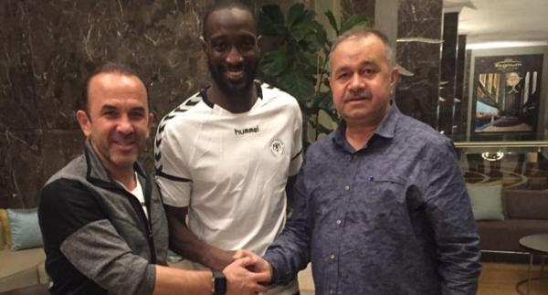 Atiker Konyaspor Yatabare'yi açıkladı