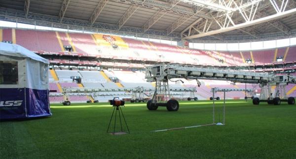 Türk Telekom Stadı'nın zemini yenileniyor