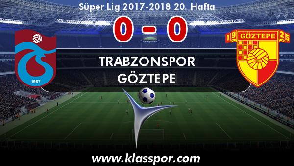 Trabzonspor 0 - Göztepe 0