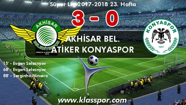 Akhisar Bel. 3 - Atiker Konyaspor 0