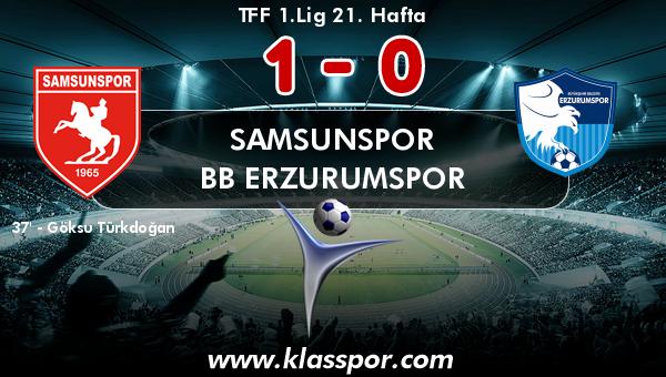 Samsunspor 1 - BB Erzurumspor 0
