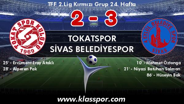 Tokatspor 2 - Sivas Belediyespor 3