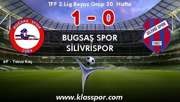 Bugsaş Spor 1 - Silivrispor 0